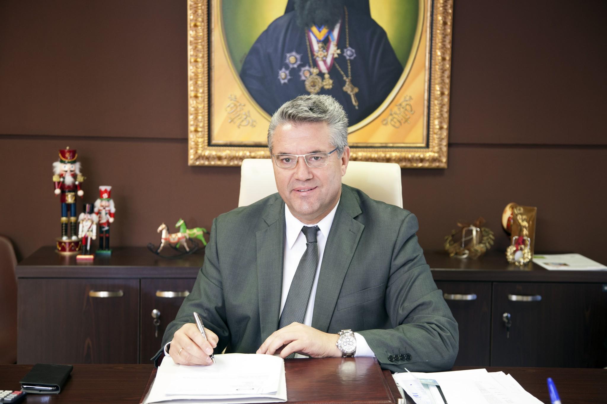 Φωτογραφία Δημάρχου Δήμου Δράμας