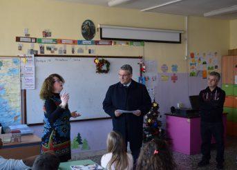 Επίσκεψη Δημάρχου στο 6o Δημοτικό Σχολείο Δράμας