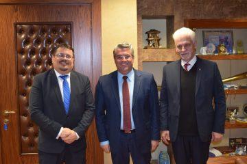 Επίσκεψη του Πρέσβη της Σλοβακίας στον Δήμαρχο Δράμας