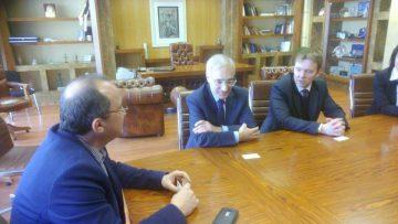 Επίσκεψη του Γενικού Πρόξενου της Ρωσικής Ομοσπονδίας κ. Αλεξάντρ Στσερμπακόβ