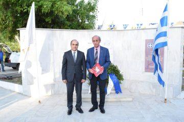 Ο Πρόεδρος της Βουλής των Αντιπροσώπων της Κυπριακής Δημοκρατίας, κ. Δημήτρης Συλλούρης, επισκέφθηκε τον Δήμο Δράμας.
