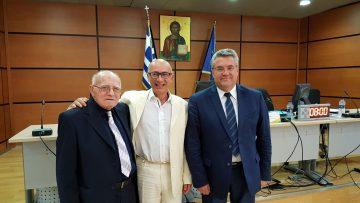 Ανακήρυξη του δρ. Τάσο Χατζηαναστασίου ως Επίτιμου Δημότη του Δήμου Δράμας