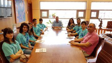 Επίσκεψη ομάδας Anti-bullying Ambassadors