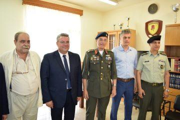 Τελετή τιμής των Πεσόντων Αξιωματικών και Οπλιτών του 21ου Συντάγματος Πεζικού «Δράμα» στην Πλάτη Ορεστιάδας του Νομού Έβρου