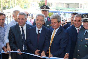 Τελετή εγκαινίων του νέου κτιρίου της Διεύθυνσης Αστυνομίας Δράμας