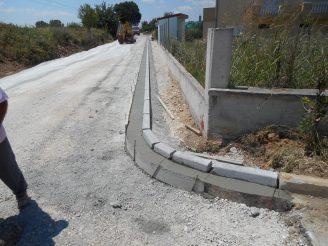 Ανακατασκευής  δρόμου και  κατασκευή νέου  στην Τοπική Κοινότητα Κουδουνίων