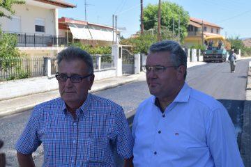 Ολοκλήρωση ανακατασκευής υφιστάμενου δρόμου και κατασκευής νέου δρόμου στην Τοπική Κοινότητα Κουδουνίων