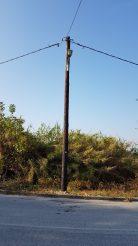 Ολοκληρώθηκαν οι εργασίες επέκτασης του φωτισμού στις εργατικές κατοικίες Μαυροβάτου (περιοχή Αγίου Σάββα).