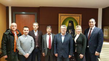 Επίσκεψη του Συμβούλου του Κυβερνήτη της Αγίας Πετρούπολης