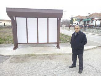 Ολοκληρώθηκε η τοποθέτηση στεγάστρων στις στάσεις λεωφορείων στην Τοπική Κοινότητα Μυλοποτάμου.