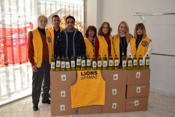 Παράδοση Προϊόντων από Λέσχη Lions Δράμας