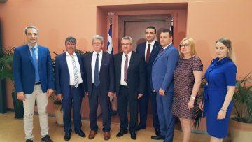 Επίσκεψη Ρωσικής Αντιπροσωπείας από την Αγία Πετρούπολη