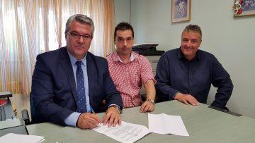Υπογραφή Προγραμματικής Σύμβασης για Συντήρηση Παιδικών Σταθμών