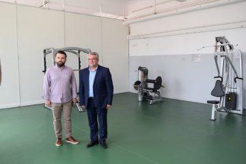 Παραδόθηκε η ανακαινισμένη αίθουσα αθλητικών οργάνων του Δημοτικού Σταδίου Δράμας