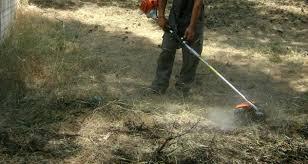 Καθαρισμός οικοπέδων για αποτροπή του κινδύνου πρόκλησης πυρκαγιάς