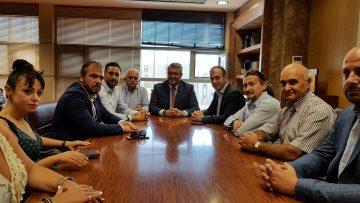 Επίσκεψη κλιμακίου Βουλευτών της ΝΔ στο Δήμαρχο Δράμας
