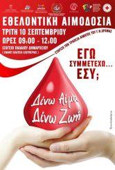 17η Πανελλήνια Λαμπαδηδρομία Αιμοδοσίας