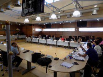 Συνάντηση-συζήτηση της 1ης ομάδας επιχειρηματιών που δραστηριοποιούνται στην περιοχή ΔΕΠΟΣ και στο πρώτο τμήμα της αρχής της 1 ης Μαϊου όπου θα ξεκινήσει το έργο της ανάπλασης στα πλαίσια του ΒΑΑ.