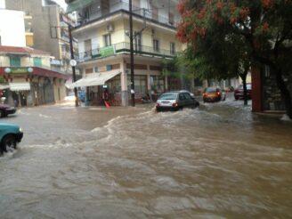 Οριοθέτηση της πόλης της Δράμας ως πληγείσας από την πλημμύρα της 17 Ιουνίου 2020